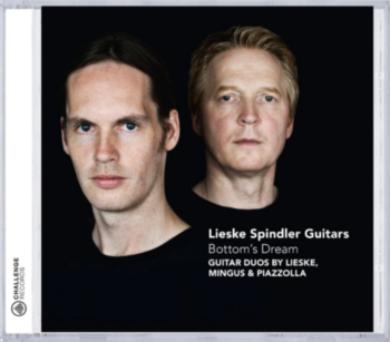 Cover der CD 'Lieske Spindler Guitars - Bottom's Dream'
