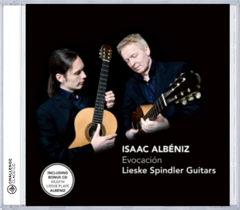 Cover der CD 'Lieske Spindler Guitars - Evocacion'